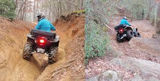 quad trail riding