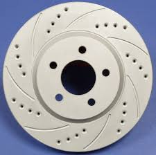 cross drilled slotted rotors