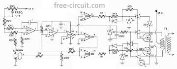 free inverter circuit diagram