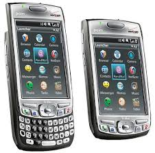 palm touch screen phone