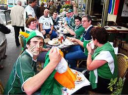 irish rugby fans