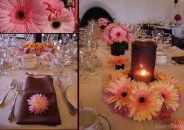 gerber daisy centerpieces