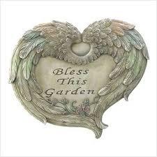 heart shaped angel wings