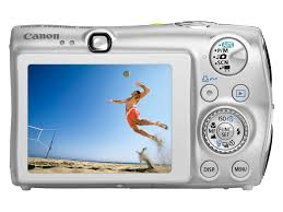 canon digital ixus 980 is silver