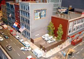 city diorama