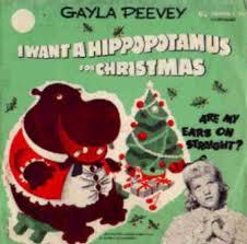 hippopotamus christmas