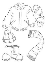 coloring pages clothes