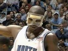 basketball protective mask