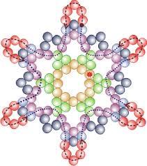 bead snowflakes