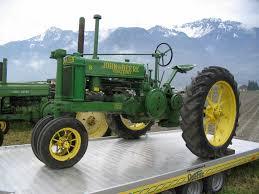 john deere model a tractors