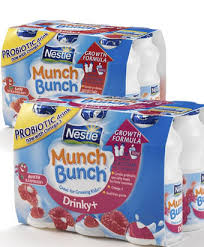 munch bunch yoghurts