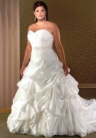 plus wedding gown