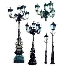 cast iron lamp