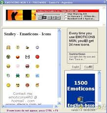 download emoticons msn