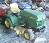 john deere 214 garden tractor