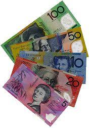 australian currency note