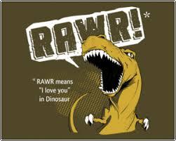 rawr dinosaur shirt