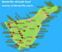 tenerife hotels map