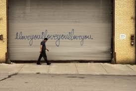 cursive graffiti