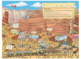 grand canyon park map