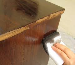 cabinet staining