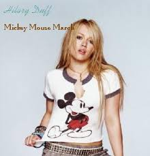 Hillary Duff - Mickey Mouse March