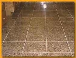granite tile floor