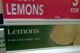 lemon orange