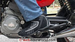 motorcycle shoe