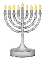 chanukah menorahs