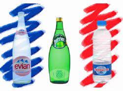french bottled water