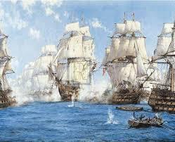 battle of trafalgar paintings
