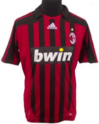 ac milan football kits