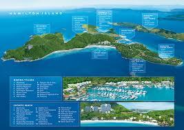 hamilton island australia map
