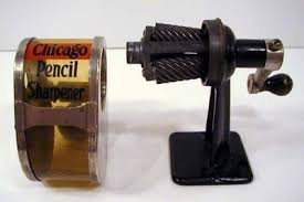 antique pencil sharpeners