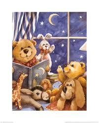 teddy bear print