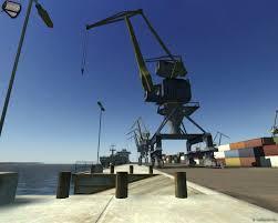shipping crane