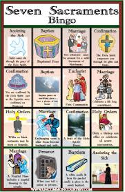 pictures of the seven sacraments
