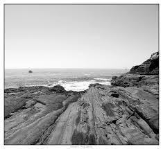 black and white ocean photos