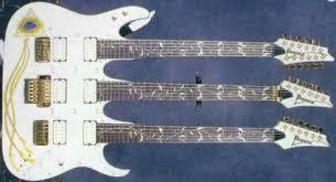 triple necked guitars