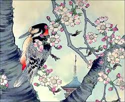 japanese bird art