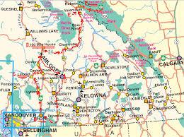 canada highway map