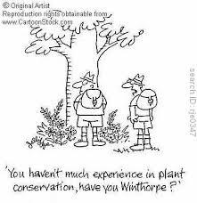 conserving plants