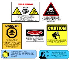 advertencias
