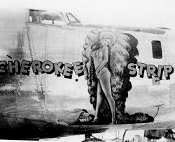 bomber nose art