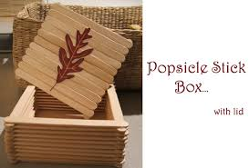 craft popsicle sticks