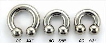 0 gauge ear rings