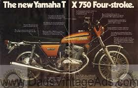 1973 yamaha motorcycles