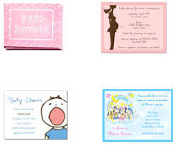 invitaciones gratis para baby shower