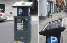 electronic parking meters